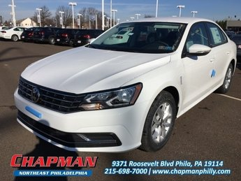 2018 Pure White Volkswagen Passat 2.0T S FWD 4 Door Sedan