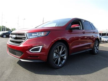 2018 Ford Edge Sport AWD EcoBoost 2.7L V6 GTDi DOHC 24V Twin Turbocharged Engine 4 Door Automatic