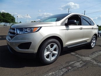 2018 Ford Edge SE EcoBoost 2.0L I4 GTDi DOHC Turbocharged VCT Engine Automatic AWD SUV 4 Door