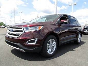 2018 Ford Edge SEL SUV 4 Door Automatic 3.5L V6 Ti-VCT Engine AWD