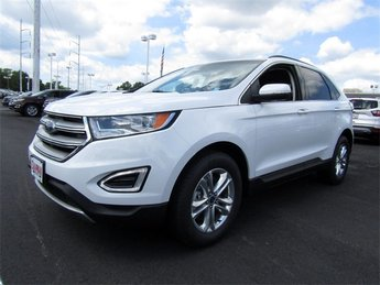 2018 Oxford White Ford Edge SEL Automatic 4 Door SUV