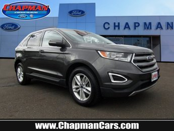 2015 Magnetic Metallic Ford Edge SEL Regular Unleaded V-6 3.5 L/213 Engine SUV 4 Door AWD