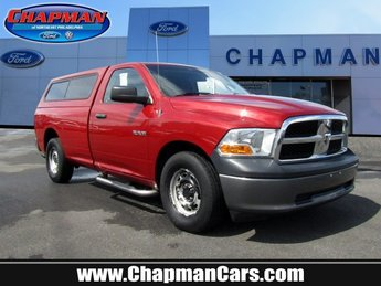 2010 Inferno Red Crystal Pearl Dodge Ram 1500 ST Gas V6 3.7L/226 Engine Automatic 2 Door Truck