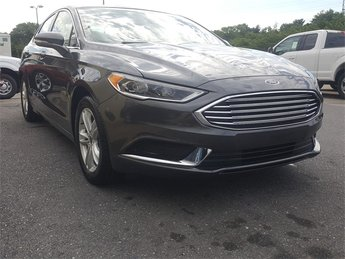 2018 Ford Fusion SE EcoBoost 1.5L I4 GTDi DOHC Turbocharged VCT Engine Automatic FWD Sedan 4 Door