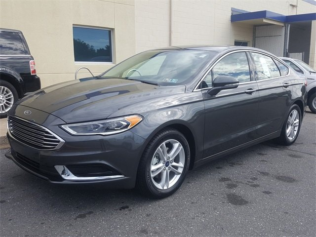 2018 Magnetic Metallic Ford Fusion SE EcoBoost 1.5L I4 GTDi DOHC Turbocharged VCT Engine Automatic FWD 4 Door Sedan
