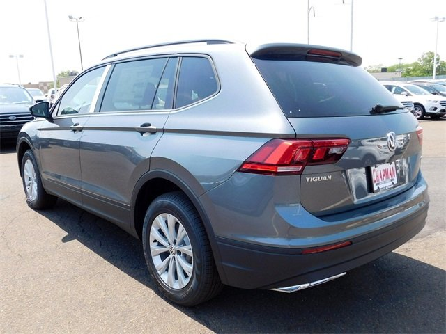 2018 Platinum Gray Metallic Volkswagen Tiguan S SUV AWD 4 Door