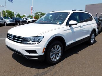 2018 White Volkswagen Tiguan S 2.0L TSI DOHC Engine AWD SUV Automatic 4 Door