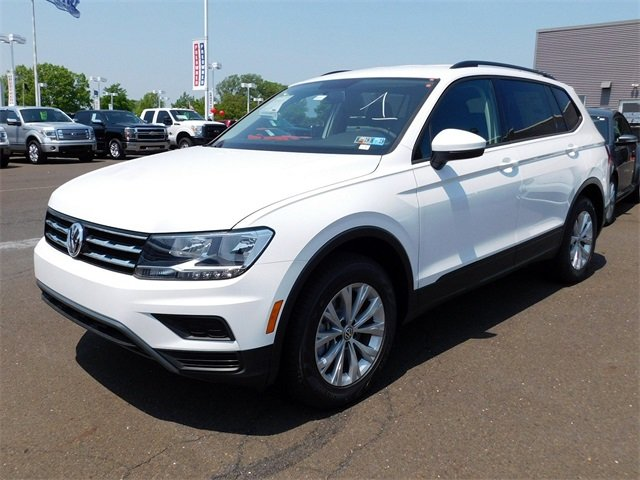 2018 White Volkswagen Tiguan S 2.0L TSI DOHC Engine Automatic 4 Door AWD
