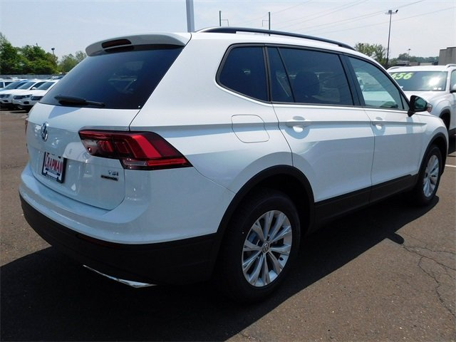 2018 White Volkswagen Tiguan S Automatic AWD 4 Door 2.0L TSI DOHC Engine