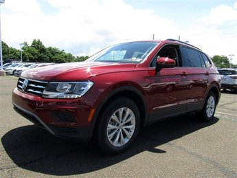 2018 Cardinal Red Metallic Volkswagen Tiguan S 4 Door 2.0L TSI DOHC Engine SUV Automatic AWD