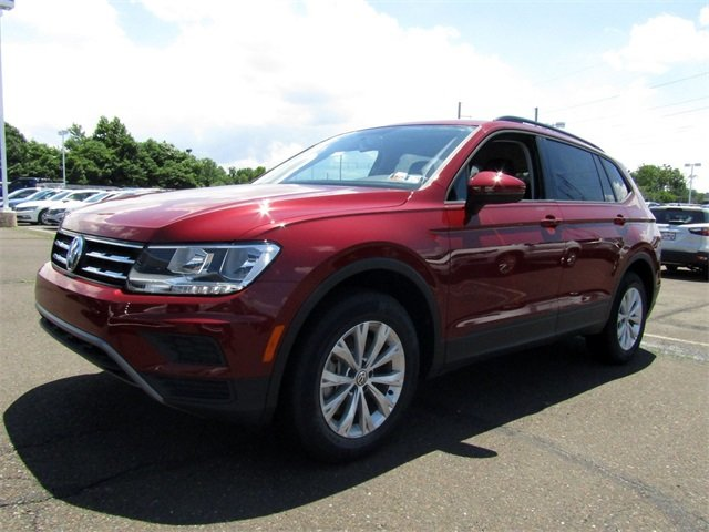 2018 Cardinal Red Metallic Volkswagen Tiguan S SUV Automatic 2.0L TSI DOHC Engine 4 Door