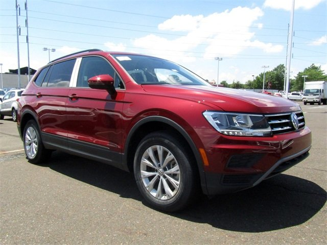 2018 Cardinal Red Metallic Volkswagen Tiguan S 2.0L TSI DOHC Engine 4 Door SUV AWD Automatic