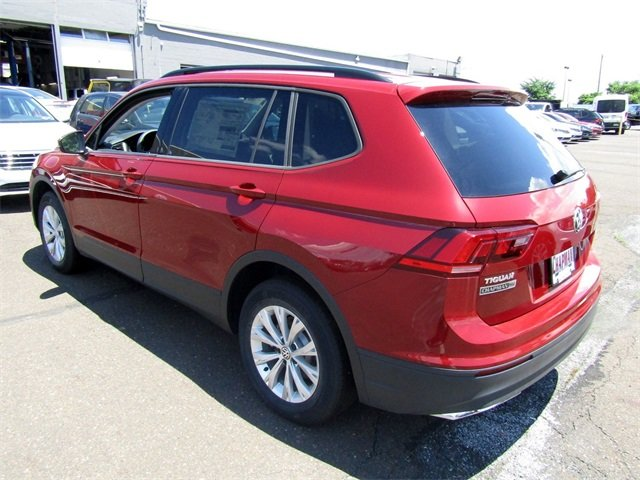 2018 Cardinal Red Metallic Volkswagen Tiguan S 2.0L TSI DOHC Engine 4 Door AWD SUV Automatic