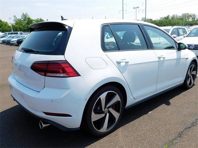 2018 White Volkswagen Golf GTI 2.0T S FWD 4 Door 2.0L TSI Engine Hatchback