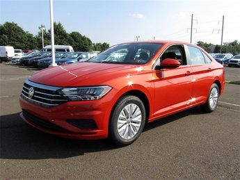 2019 Habanero Orange Metallic Volkswagen Jetta 1.4T S Sedan Automatic 1.4L TSI Engine 4 Door FWD
