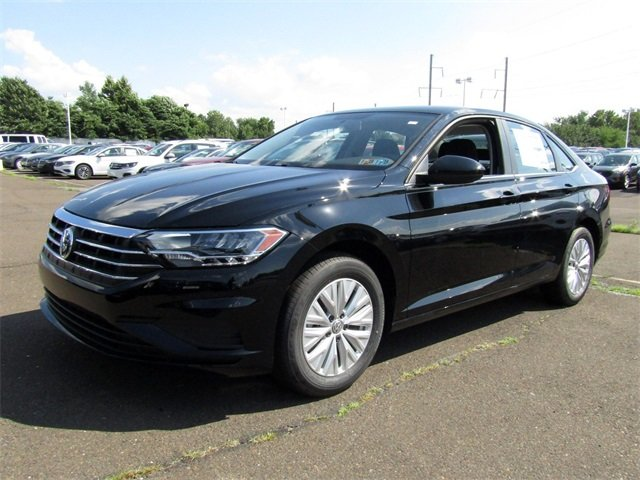2019 Black Volkswagen Jetta 1.4T S Sedan 4 Door FWD