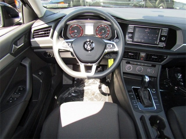 2019 Black Volkswagen Jetta 1.4T S Automatic FWD 1.4L TSI Engine 4 Door