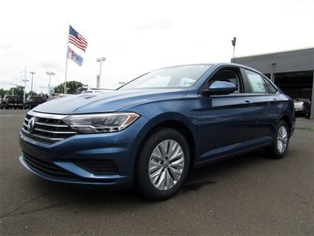 2019 Blue Silk Metallic Volkswagen Jetta 1.4T S Automatic 1.4L TSI Engine 4 Door