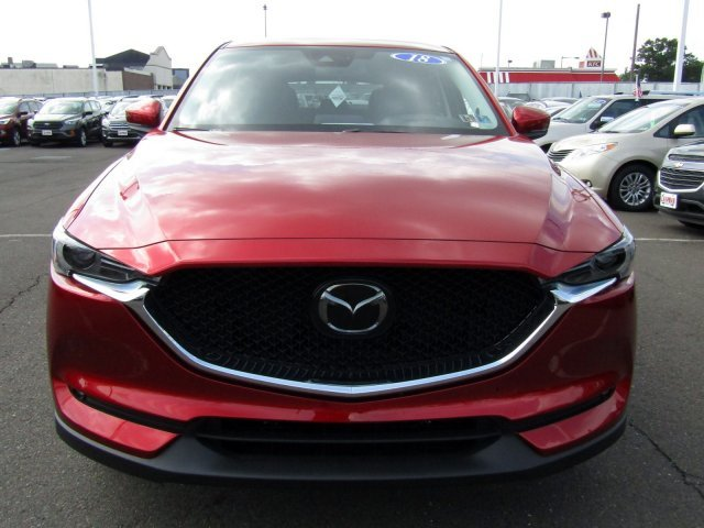 2018 Soul Red Crystal Metallic Mazda CX-5 Grand Touring 4 Door Automatic Regular Unleaded I-4 2.5 L/152 Engine