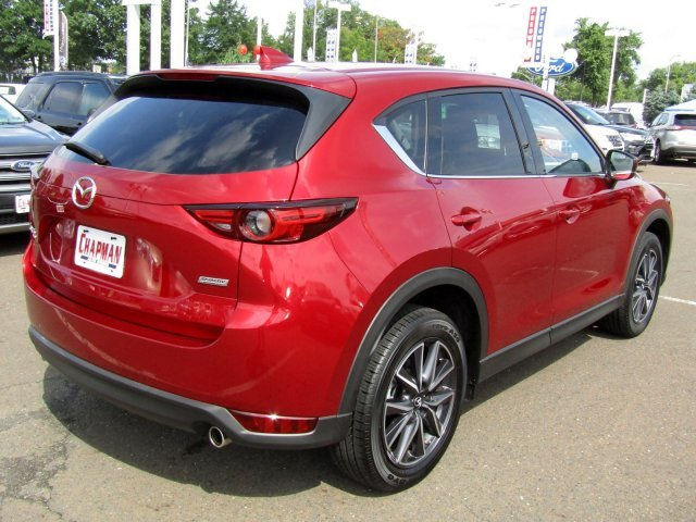 2018 Soul Red Crystal Metallic Mazda CX-5 Grand Touring SUV Automatic Regular Unleaded I-4 2.5 L/152 Engine AWD