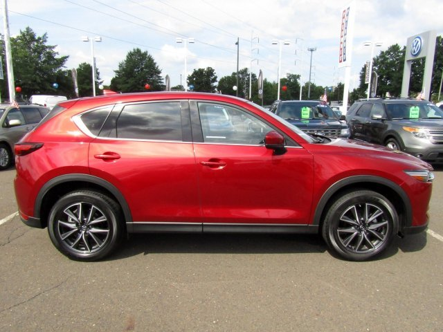 2018 Soul Red Crystal Metallic Mazda CX-5 Grand Touring Regular Unleaded I-4 2.5 L/152 Engine Automatic 4 Door AWD SUV
