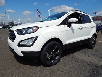 2018 Diamond White Ford EcoSport SES 4X4 4 Door SUV I4 Engine Automatic
