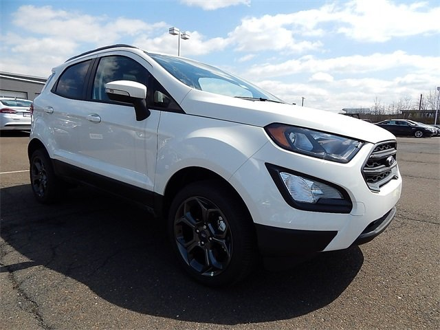 2018 Diamond White Ford EcoSport SES Automatic I4 Engine 4 Door SUV