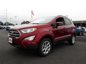 2018 Ford EcoSport SE I4 Engine 4 Door 4X4 Automatic SUV