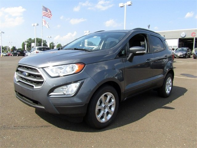 2018 Smoke Metallic Ford EcoSport SE SUV 4X4 Automatic 4 Door