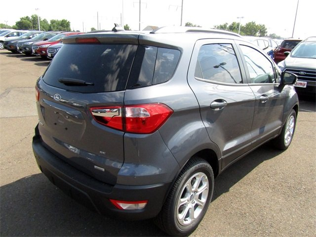 2018 Smoke Metallic Ford EcoSport SE Automatic 4X4 I4 Engine 4 Door