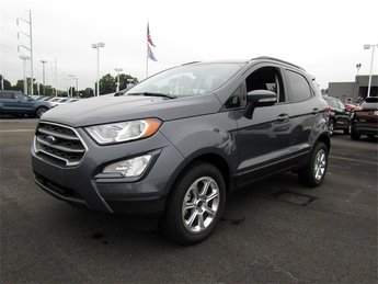 2018 Smoke Metallic Ford EcoSport SE 4X4 SUV Automatic I4 Engine
