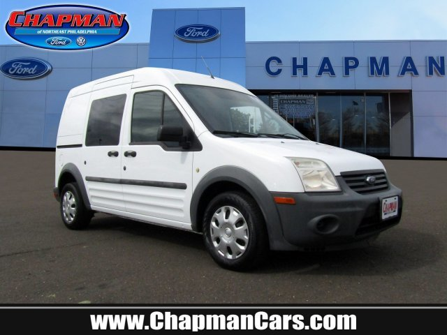 2011 Frozen White Ford Transit Connect XL Gas I4 2.0L/122 Engine 4 Door FWD Van Automatic