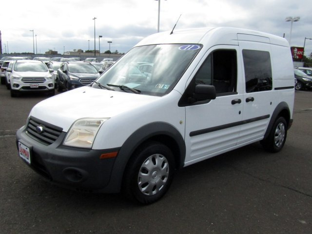 2011 Frozen White Ford Transit Connect XL Automatic FWD Van 4 Door Gas I4 2.0L/122 Engine