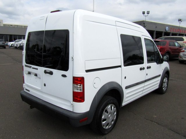 2011 Frozen White Ford Transit Connect XL FWD Automatic 4 Door Gas I4 2.0L/122 Engine
