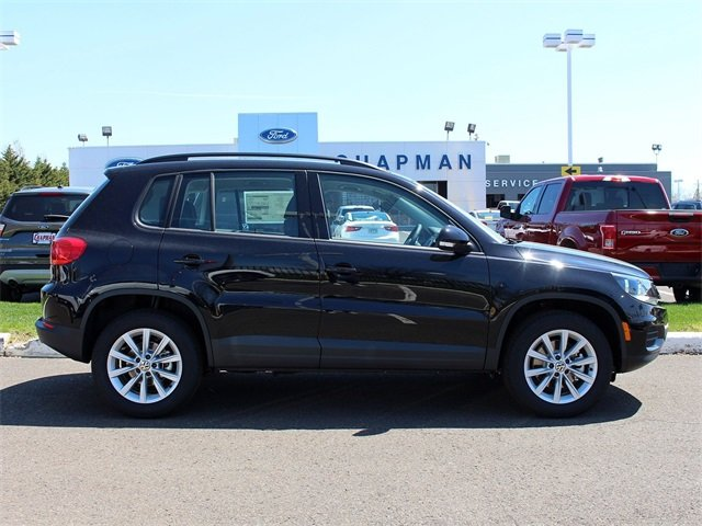 2018 Volkswagen Tiguan Limited 2.0T 4 Door Automatic AWD 2.0L TSI DOHC Engine SUV
