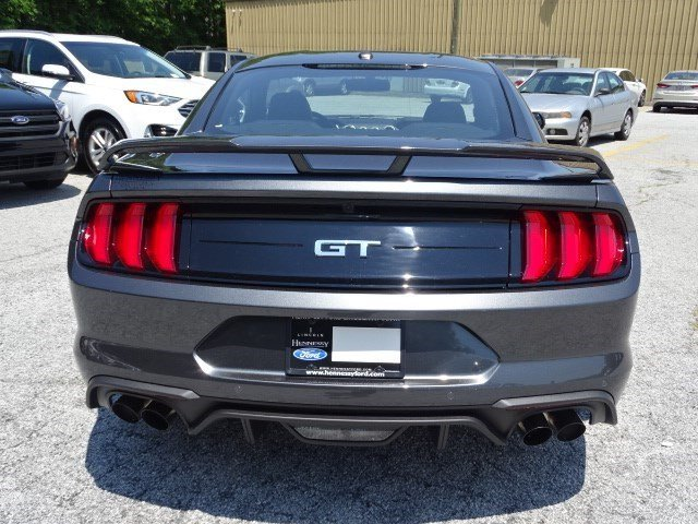 2019 Magnetic Metallic Ford Mustang GT Premium Premium Unleaded V-8 5.0 L/302 Engine Coupe Automatic