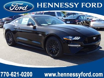 2019 Shadow Black Ford Mustang GT Premium Automatic RWD 2 Door