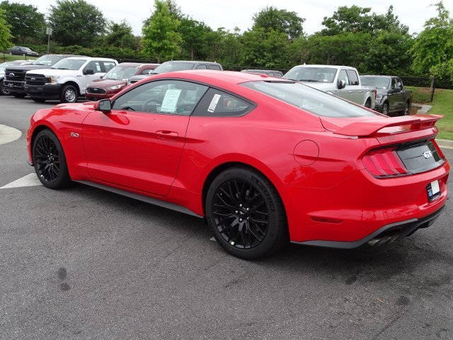 2019 Race Red Ford Mustang GT Premium Automatic Premium Unleaded V-8 5.0 L/302 Engine RWD Coupe