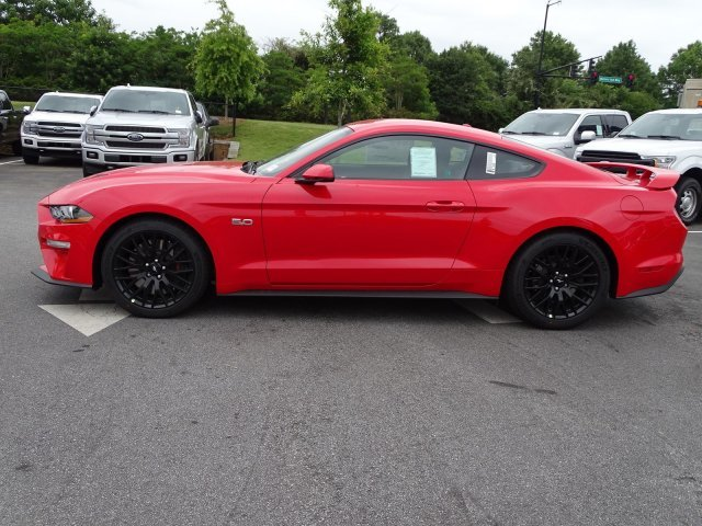 2019 Race Red Ford Mustang GT Premium Automatic Premium Unleaded V-8 5.0 L/302 Engine Coupe