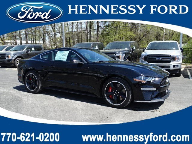 2019 Shadow Black Ford Mustang Bullitt 2 Door Premium Unleaded V-8 5.0 L/302 Engine Manual RWD Coupe