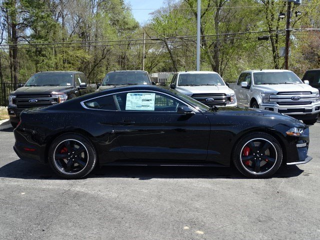 2019 Shadow Black Ford Mustang Bullitt Premium Unleaded V-8 5.0 L/302 Engine Manual RWD Coupe 2 Door
