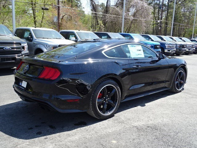2019 Shadow Black Ford Mustang Bullitt RWD Coupe Premium Unleaded V-8 5.0 L/302 Engine 2 Door Manual