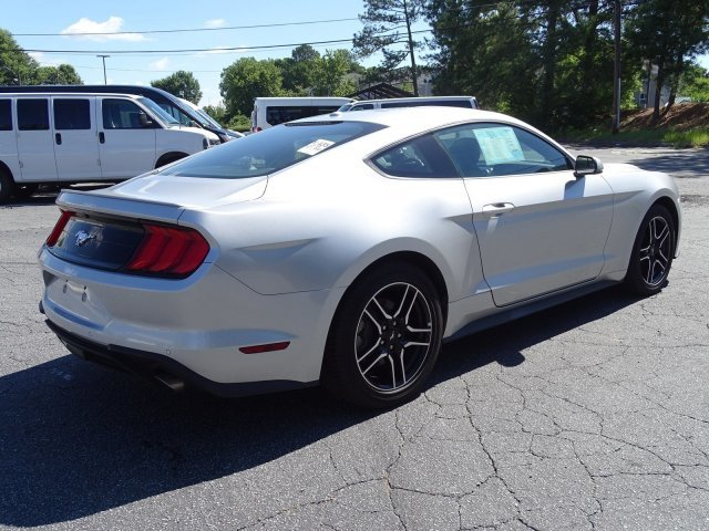 2018 Ingot Silver Metallic Ford Mustang EcoBoost Premium 2 Door Coupe Intercooled Turbo Premium Unleaded I-4 2.3 L/140 Engine Automatic RWD