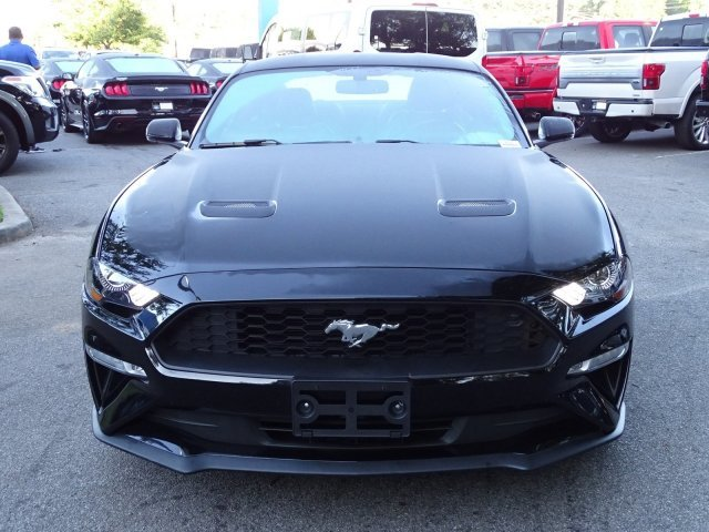 2018 Shadow Black Ford Mustang EcoBoost Premium Coupe Intercooled Turbo Premium Unleaded I-4 2.3 L/140 Engine 2 Door Automatic RWD