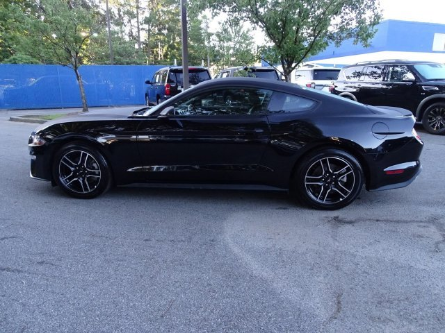 2018 Shadow Black Ford Mustang EcoBoost Premium RWD Coupe Intercooled Turbo Premium Unleaded I-4 2.3 L/140 Engine 2 Door Automatic