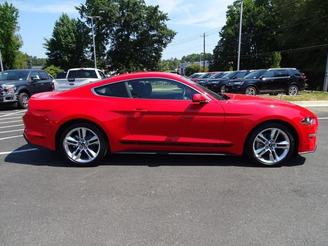 2019 Race Red Ford Mustang EcoBoost Premium Coupe 2 Door Intercooled Turbo Premium Unleaded I-4 2.3 L/140 Engine RWD