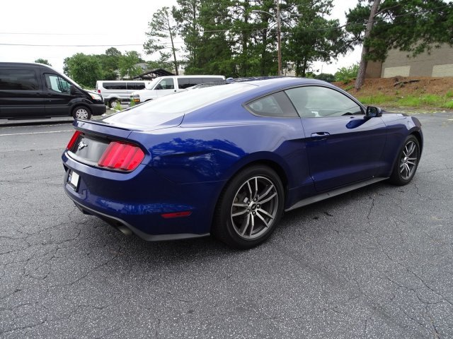 2015 Ford Mustang EcoBoost Premium RWD Automatic Intercooled Turbo Premium Unleaded I-4 2.3 L/140 Engine Coupe 2 Door