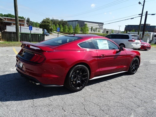2019 Ford Mustang EcoBoost Intercooled Turbo Premium Unleaded I-4 2.3 L/140 Engine 2 Door RWD Automatic