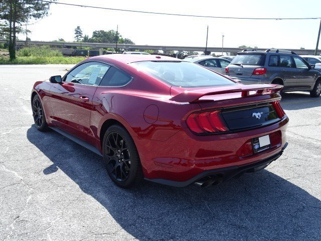 2019 Ford Mustang EcoBoost Intercooled Turbo Premium Unleaded I-4 2.3 L/140 Engine RWD Automatic