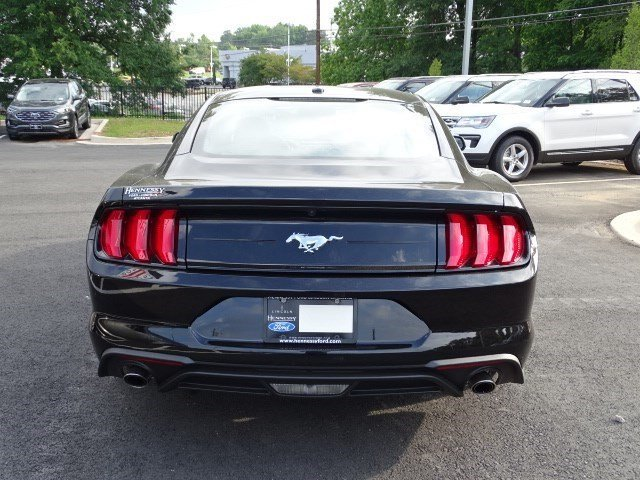 2019 Shadow Black Ford Mustang EcoBoost Coupe RWD Intercooled Turbo Premium Unleaded I-4 2.3 L/140 Engine 2 Door